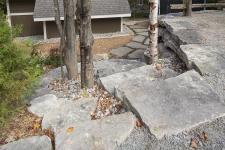 Marches en pierres naturelles